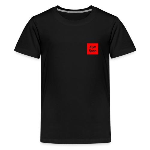 Katt Span - Teenage Premium T-Shirt