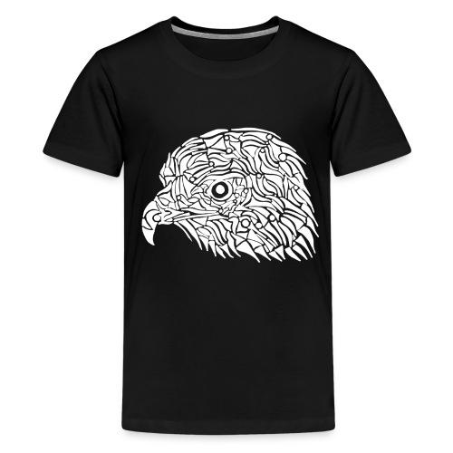 aigle royal blanc - T-shirt Premium Ado