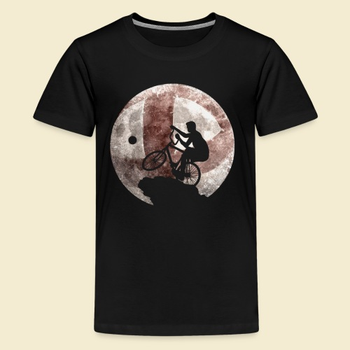 Radball | Moon - Teenager Premium T-Shirt