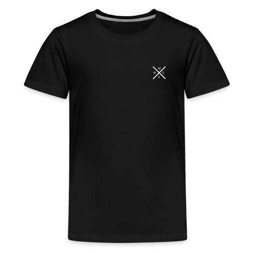 wacelogo white - Teenager Premium T-Shirt