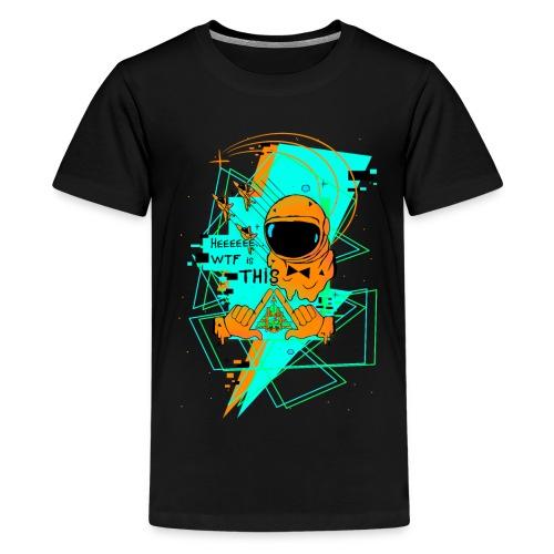 Astronauta Pop 8'0 orange storm - Camiseta premium adolescente