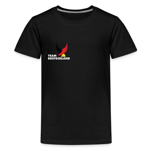 TEAM DEUTSCHLAND - Teenager Premium T-Shirt