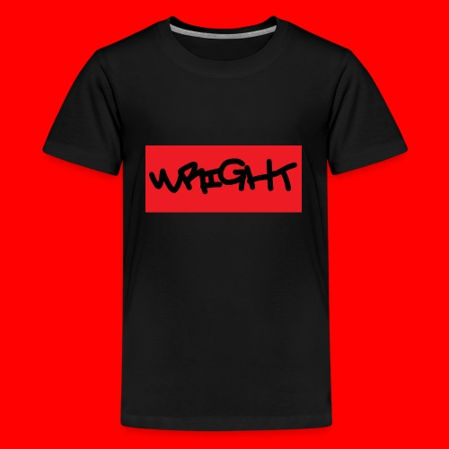 wright - Teenage Premium T-Shirt