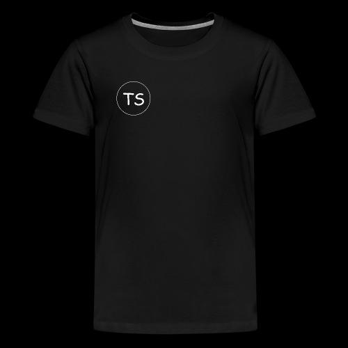 THE SPION KOLLEKTION 1 (BLACK EDITION) - Teenager Premium T-Shirt