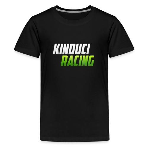kinduci racing logo - Teenage Premium T-Shirt