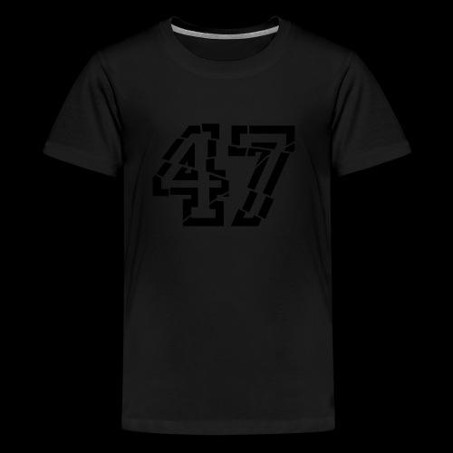 47 broken - Teenager Premium T-Shirt