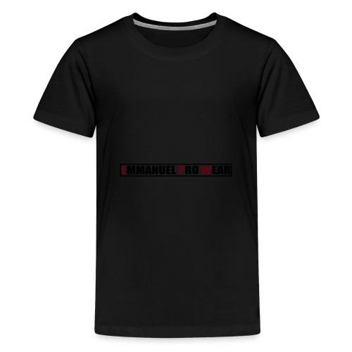 Emmanuel pro wear - Teenage Premium T-Shirt