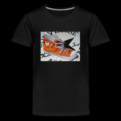 Schuhe - Teenager Premium T-Shirt