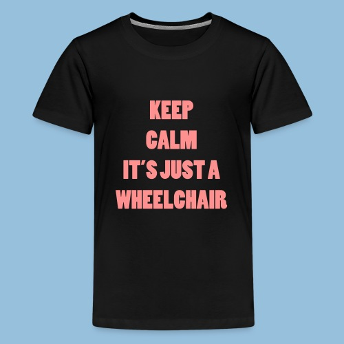 JustaWheelchair - Teenager Premium T-shirt