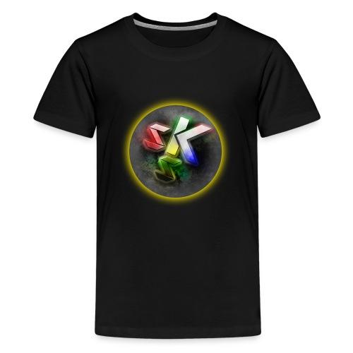 SkShadow Logo - Teenage Premium T-Shirt