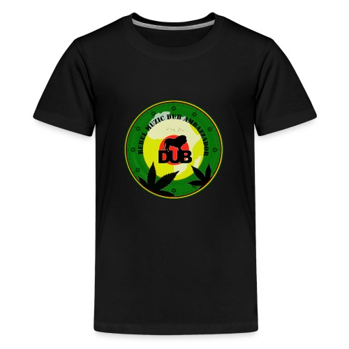 Rebel Muzic Dub Ambassador - Teenage Premium T-Shirt