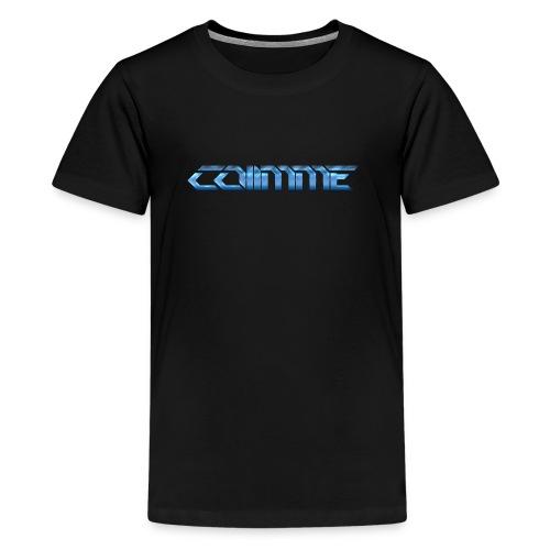 Co11mme SCHRIFTZUG - Teenager Premium T-Shirt