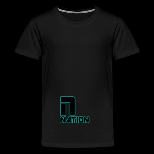 nation - Teenage Premium T-Shirt