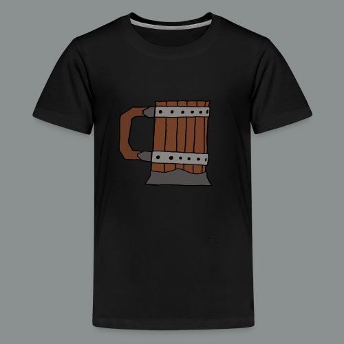 chope, peinte, bière, taverne, geek, jeu de rôle - T-shirt Premium Ado
