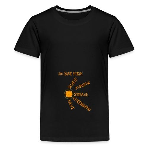 Sonnenlicht Sonnenschein - Teenager Premium T-Shirt