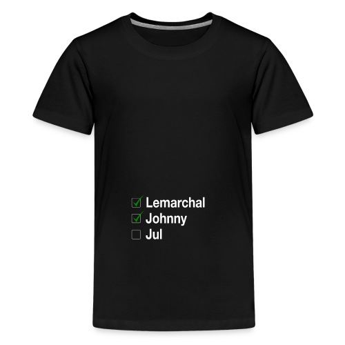 Check list Johnny Jul - T-shirt Premium Ado