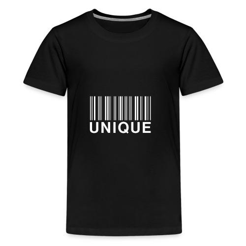 Unique New White - Koszulka młodzieżowa Premium