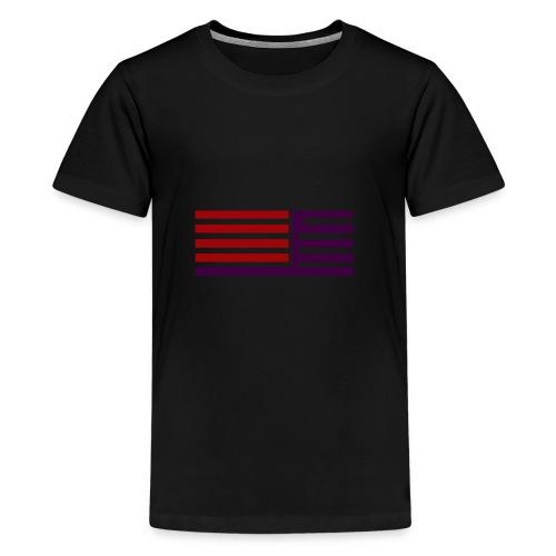 oie transparent 8 - Teenager Premium T-Shirt