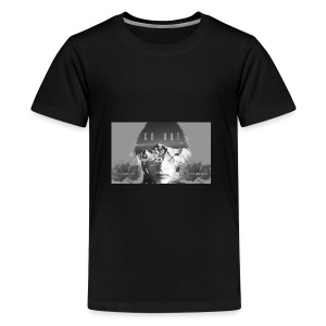 Visage incrustation - T-shirt Premium Ado
