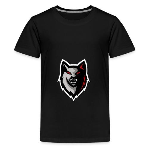 Craigy B! Wolf Design. - Teenage Premium T-Shirt