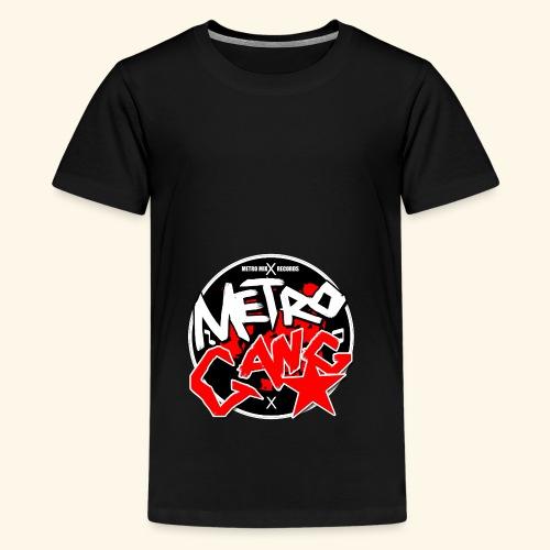 METRO GANG LIFESTYLE - Teenage Premium T-Shirt