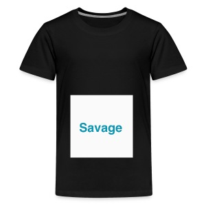 NEW EXLUSIVE SAVAGE MERCHANDICE - Teenage Premium T-Shirt