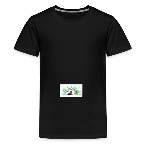 Project Drawing 1 197875703 - Teenage Premium T-Shirt