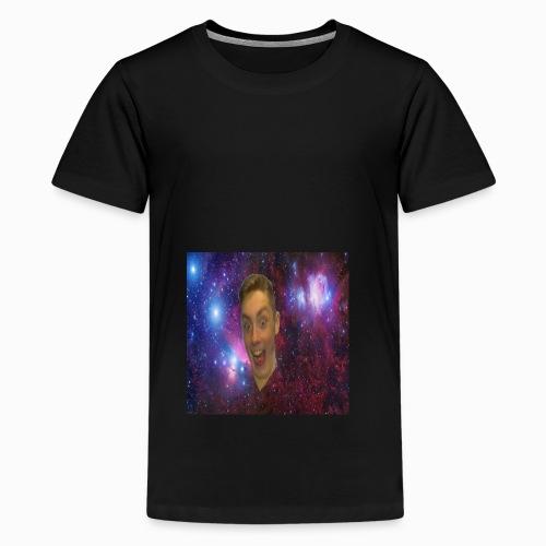 The face of a madman design - Teenage Premium T-Shirt