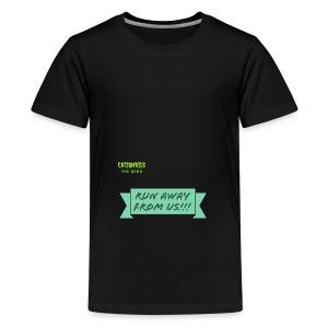 run away from us!!! - Teenage Premium T-Shirt
