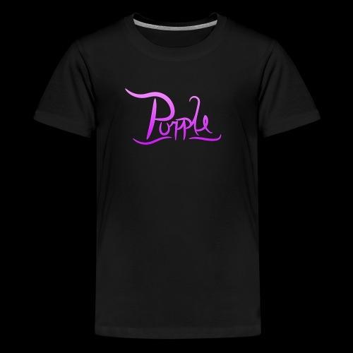 PurpleDesigns - Teenage Premium T-Shirt