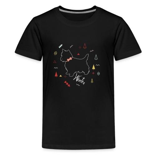 WINTER DOG COLLECTION - T-shirt Premium Ado