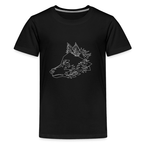 Graphic Wolf - Teenager Premium T-shirt
