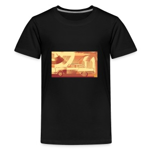 Cuba Car - Teenager Premium T-shirt
