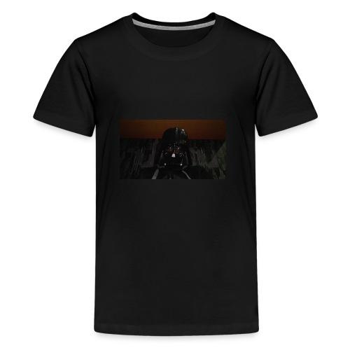 Nur mit maske - Teenager Premium T-Shirt