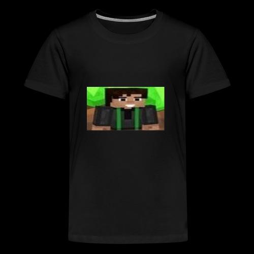 EnZ PlayZ Profile Pic - Teenage Premium T-Shirt