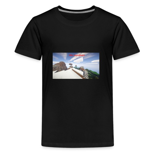 Minecraft Ausenländer - Teenager Premium T-Shirt
