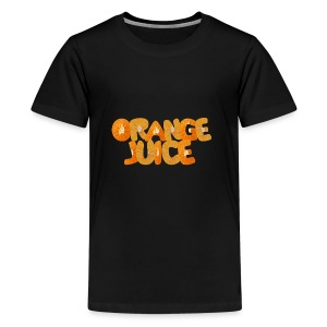 orange juice - T-shirt Premium Ado