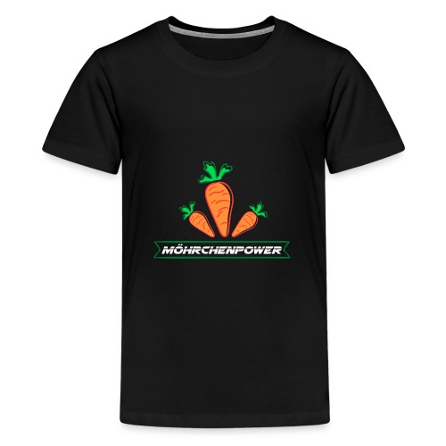 Möhrchenpower - Teenager Premium T-Shirt