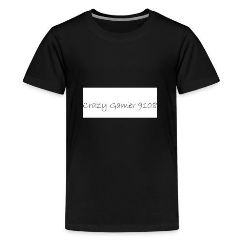 Crazy Gamer 9108 new merch - Teenage Premium T-Shirt