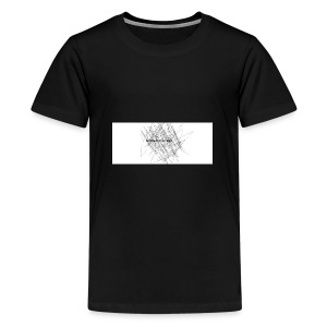 scrible out the hatters - Teenage Premium T-Shirt