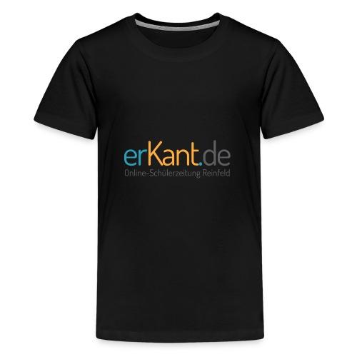 Erkant.de Logo pur - Teenager Premium T-Shirt