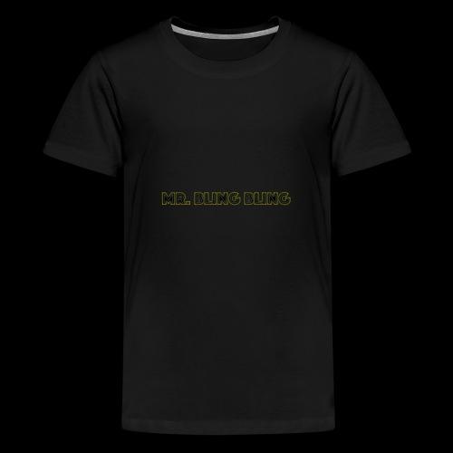 bling bling - Teenager Premium T-Shirt