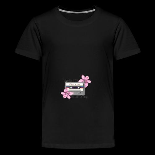 Stranger Things cinta - Camiseta premium adolescente