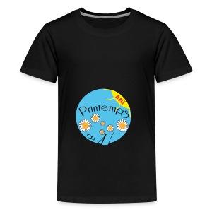 LE PRINTEMPS HANDICAP EN SAVOIE - T-shirt Premium Ado
