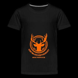 LOGO Orange - Teenager Premium T-Shirt