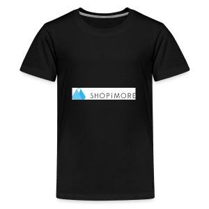 Logo SHOPiMORE - Teenager Premium T-Shirt