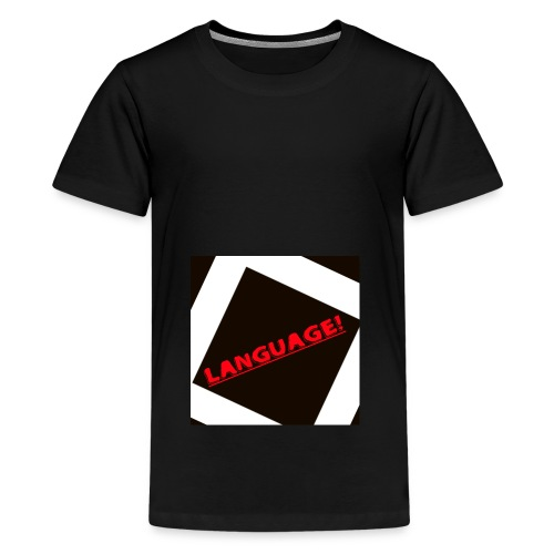 Language - Teenage Premium T-Shirt