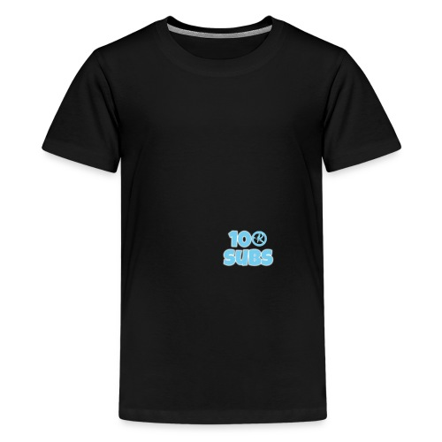 100 subs merch - Teenage Premium T-Shirt