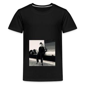 Tshirt with Spraxa's face on it! - Teenage Premium T-Shirt