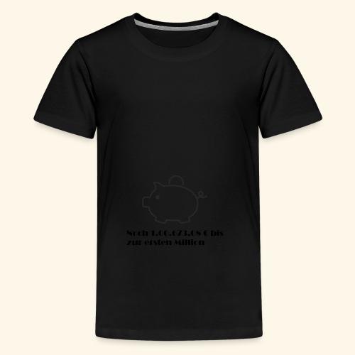 Sparschweinchen - Teenager Premium T-Shirt